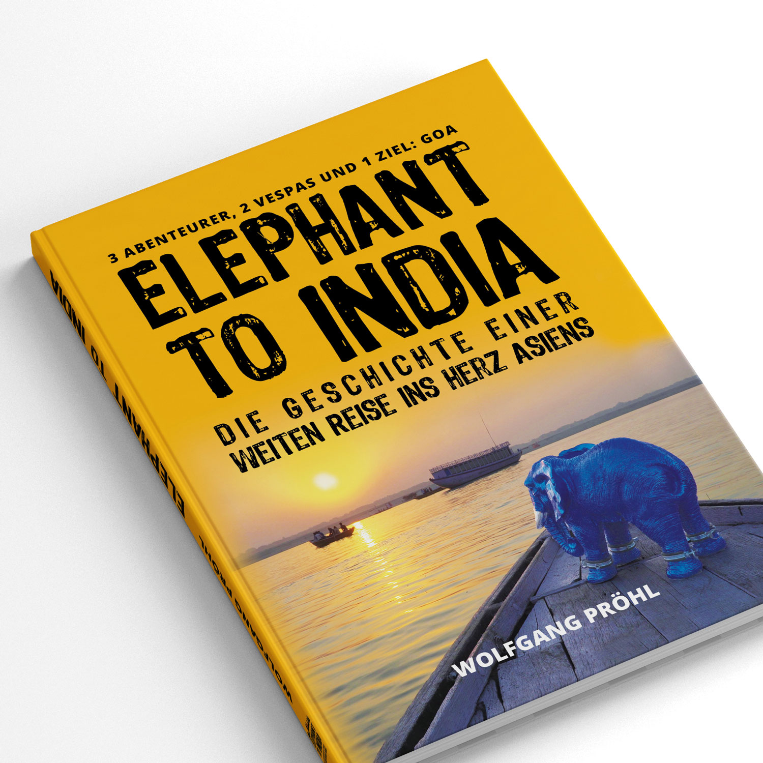Buch Elephant to India