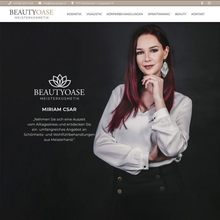 Website Beautyoase