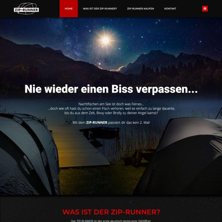 Website ZIP-Runner