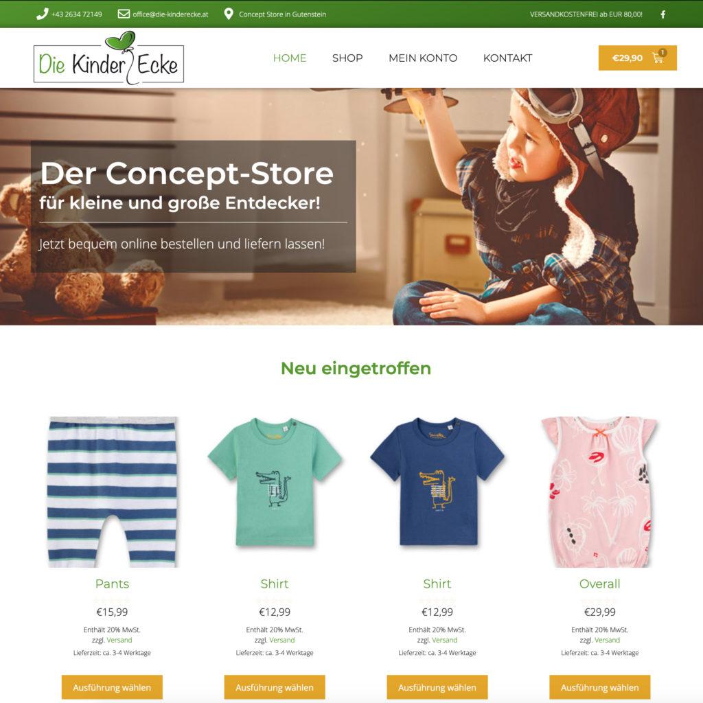 Die Kinderecke Webshop