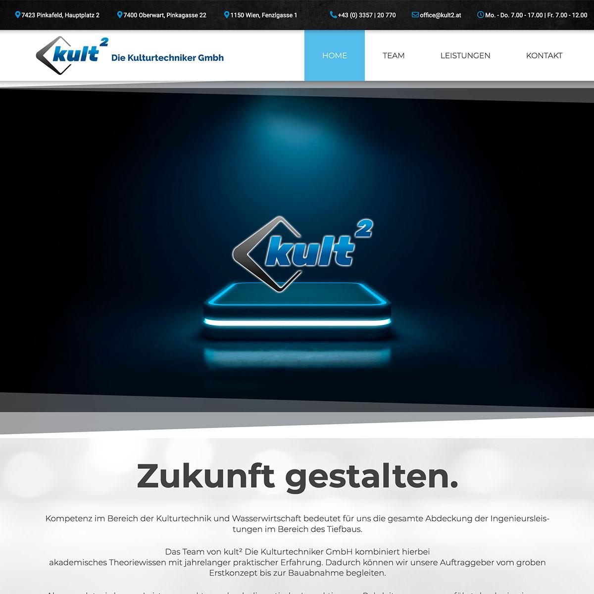 Kult2 - Website