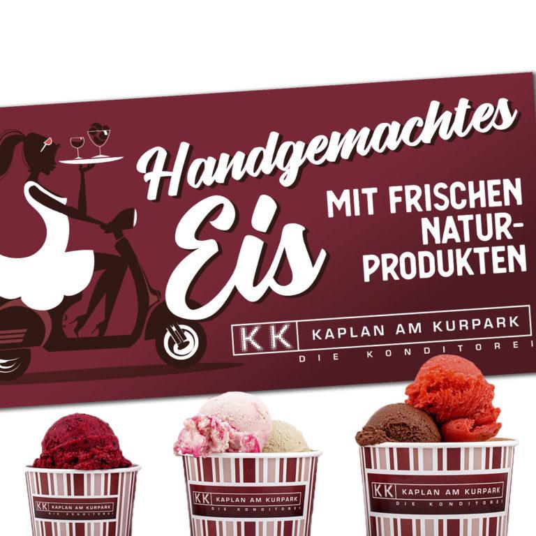 Handgemachtes Eis von Kaplan