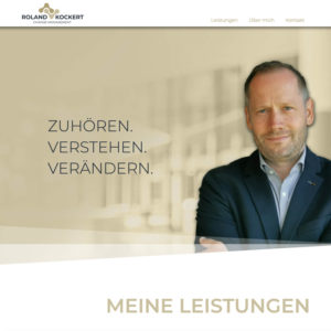 Website Roland Kockert