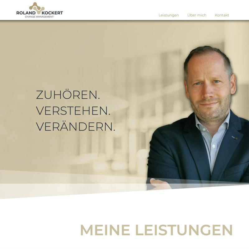 Website Roland Kockert