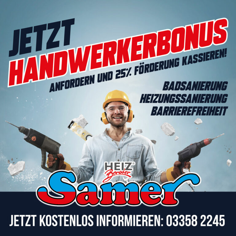 Handwerkerbonus Burgenland 2021